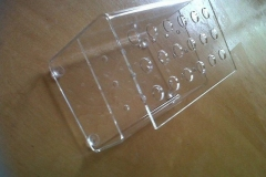 WDP-2017-Perspex-pen-holder-side-view