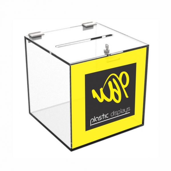 Branded Suggestion Box - 1 sided branding
