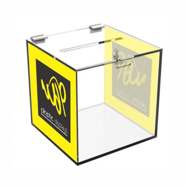 Branded Suggestion Box - 2 sided branding
