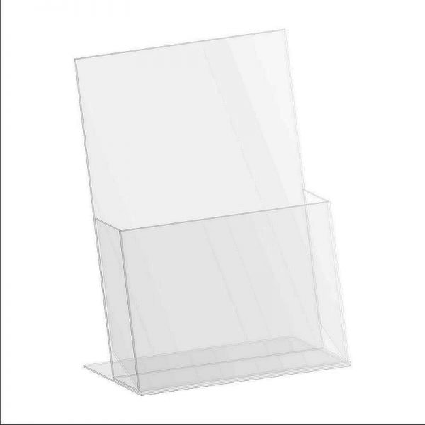 Counter top brochure holders - sizes: DL, A5, A4