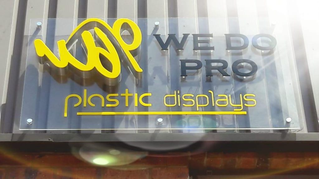 Manufacture of Acrylic, Perspex, Wood and Plastic displays - We Do Pro