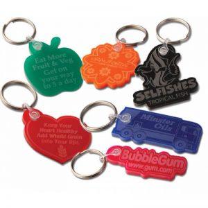 Acrylic key rings
